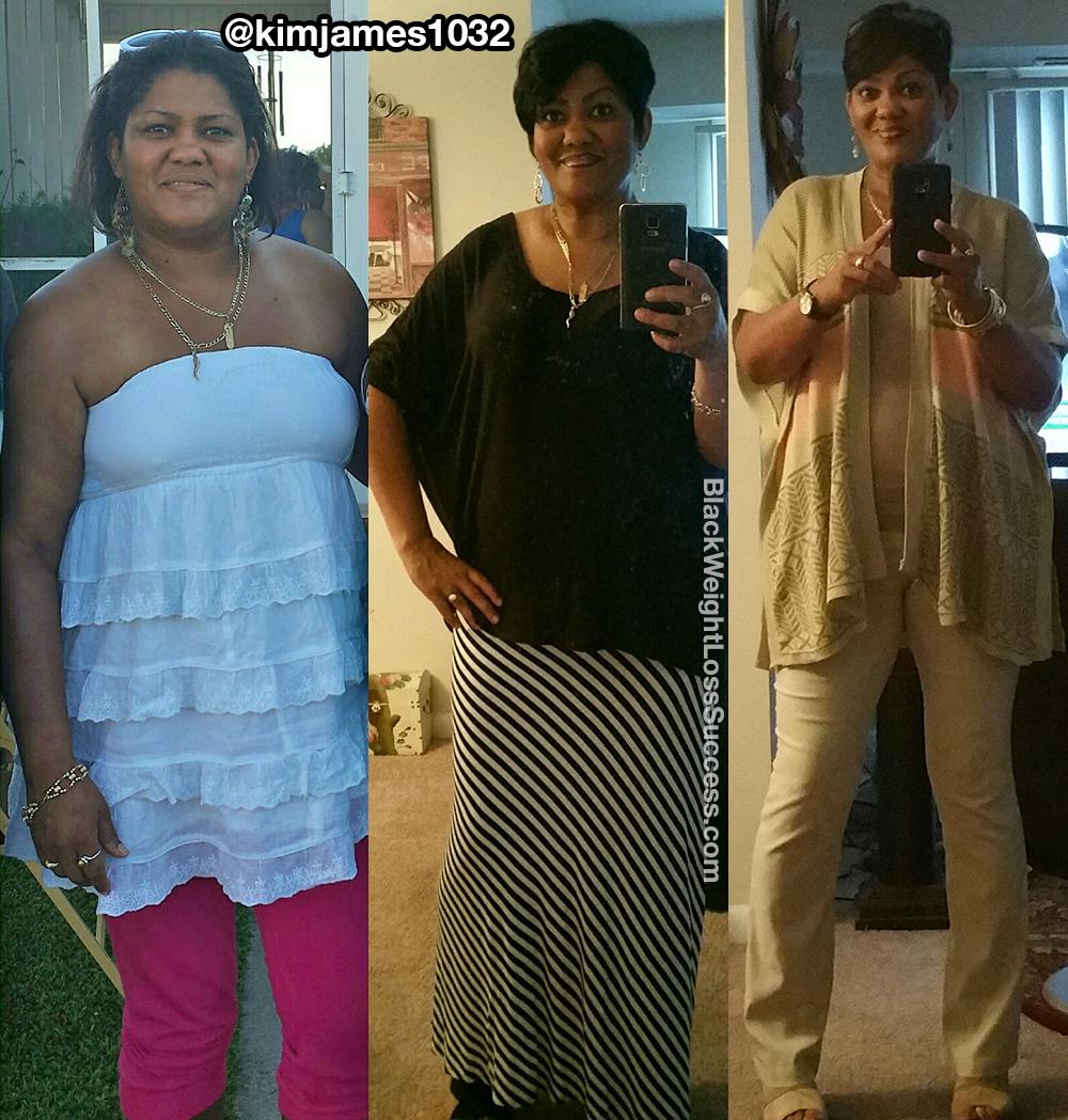 kim weight loss