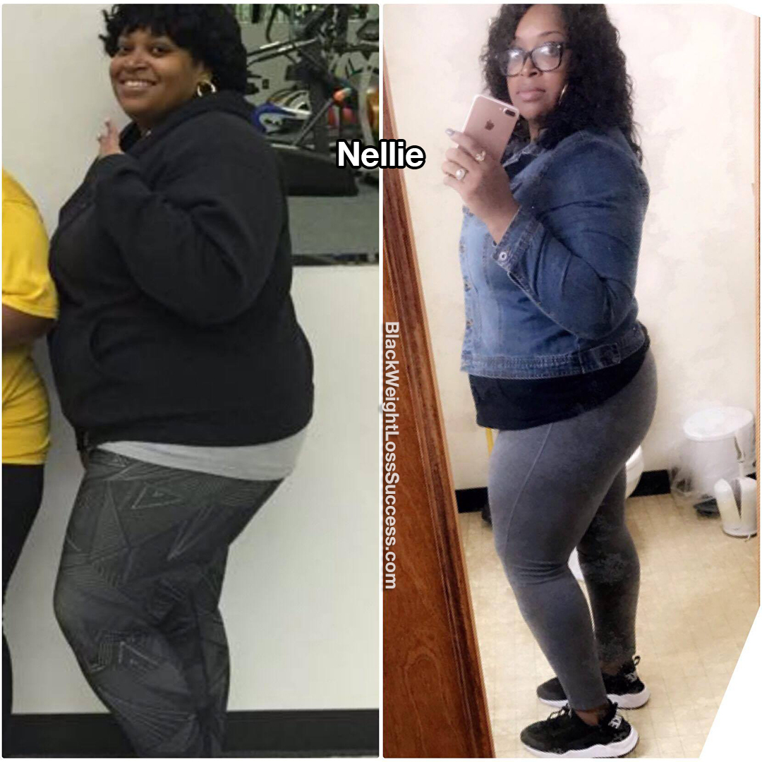 nellie before and after