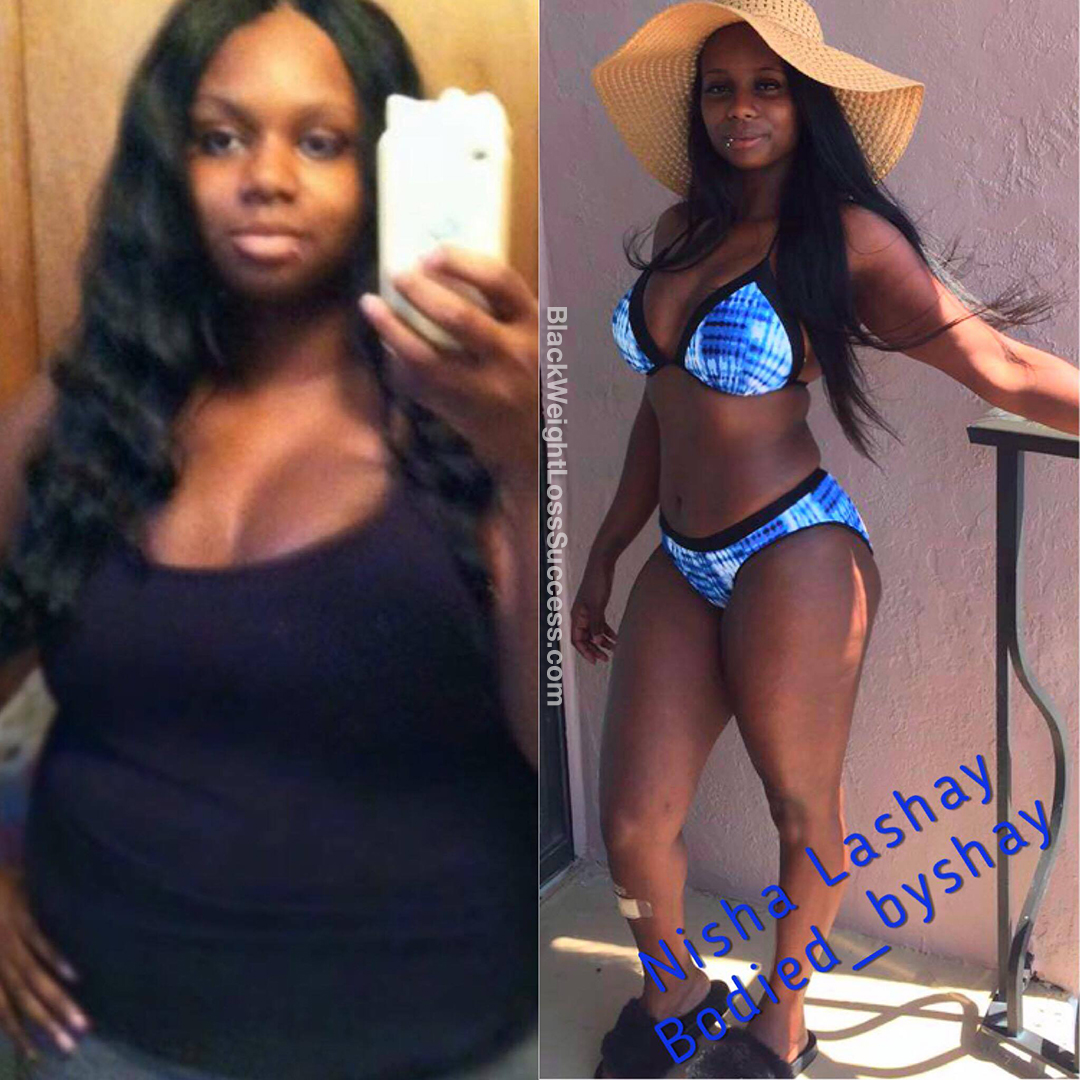 nisha before and after