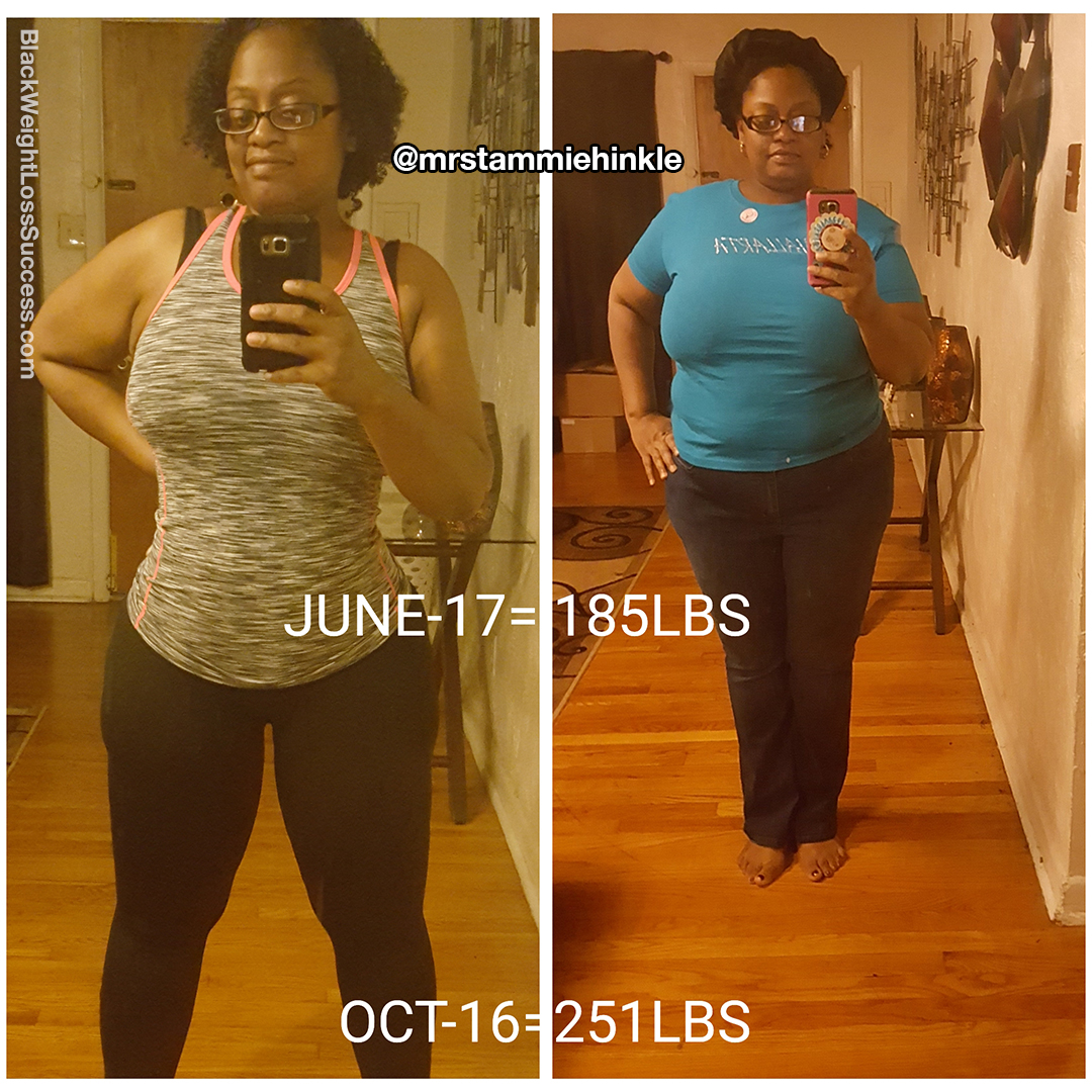 tammie weight loss journey