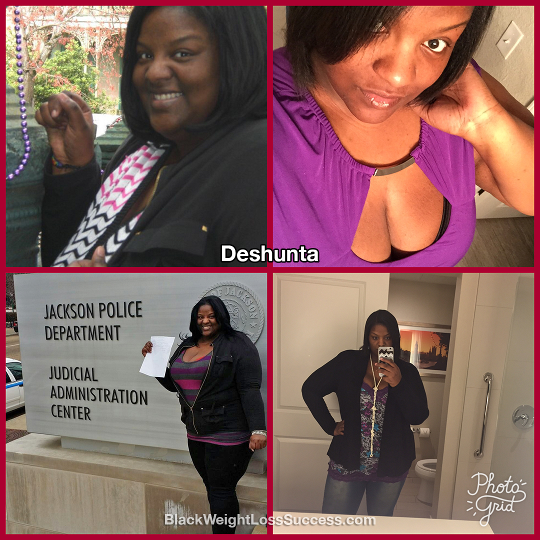 deshunta before and after