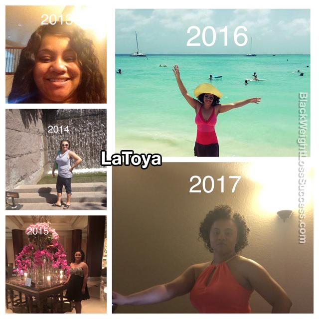 LaToya weight loss