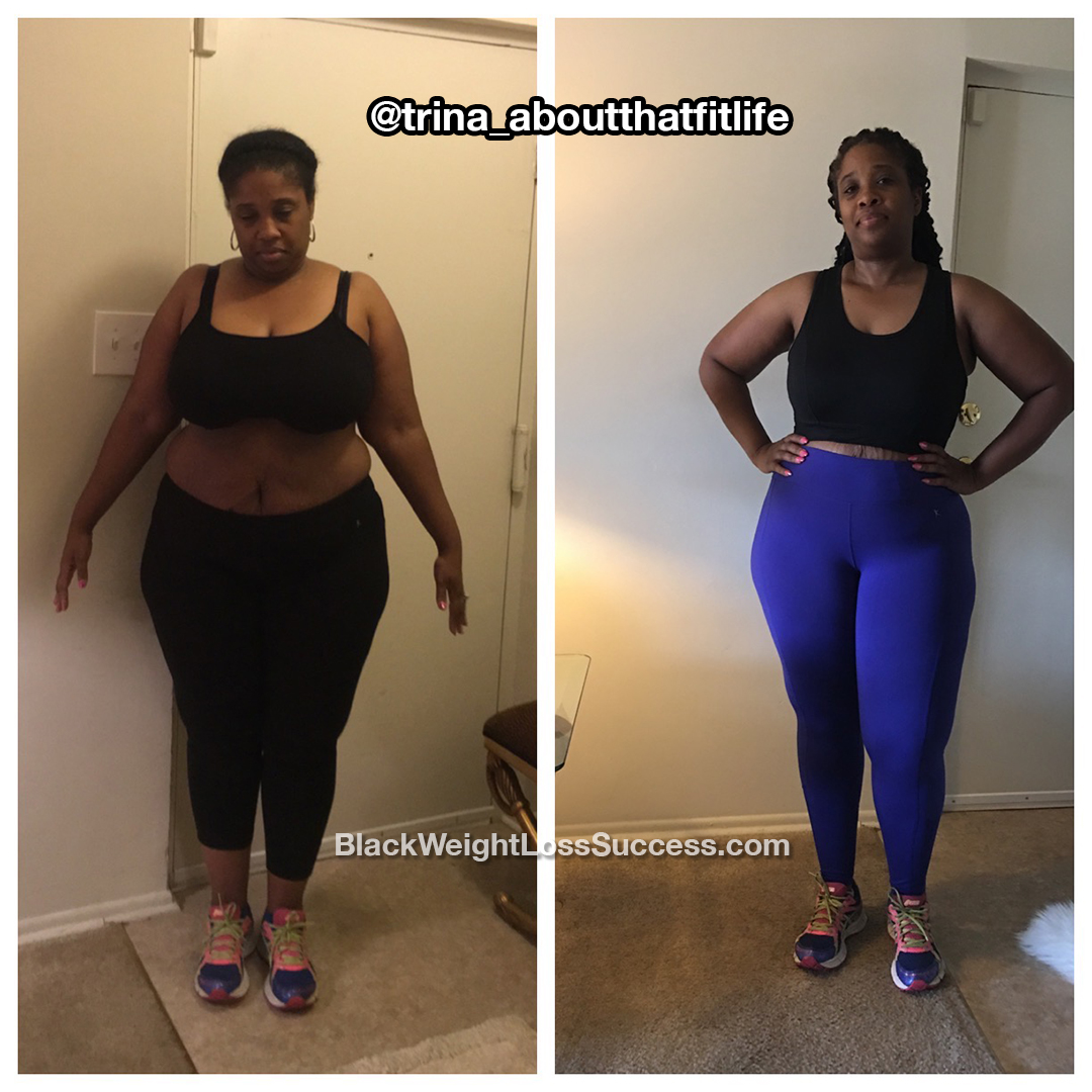 trina before and after