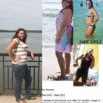 Shawntia has lost 48 pounds