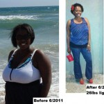 Tianna lost 26 pounds!