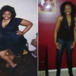 Natasha's weight loss