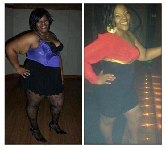 Nicole lost 80 pounds | Black Weight Loss Success