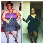April's weight loss