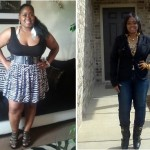 LaTasha lost 75 pounds