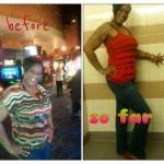 Shamieka's weight loss photos