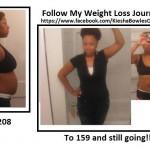 kiesha weight loss