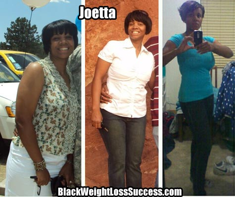 Joetta lost 40 pounds | Black Weight Loss Success