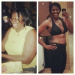 Sharnita lost 79 pounds