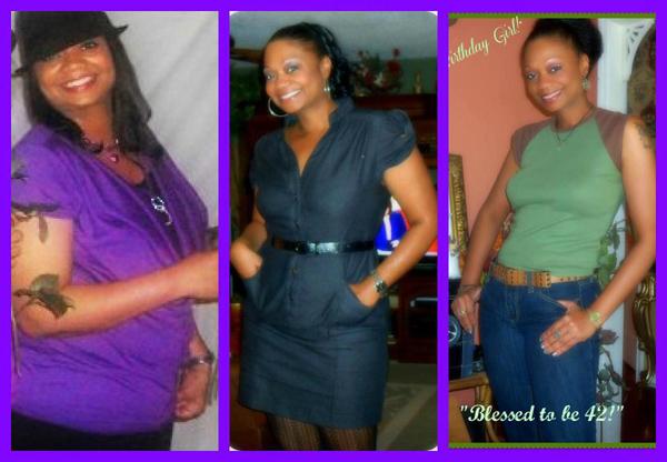 Bridget lost 70 pounds.   Black Weight Loss Success