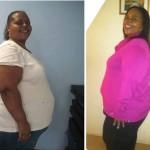 Ktasha lost 100 pounds