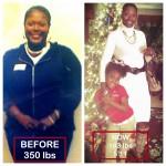 Kimberly lost 167 pounds