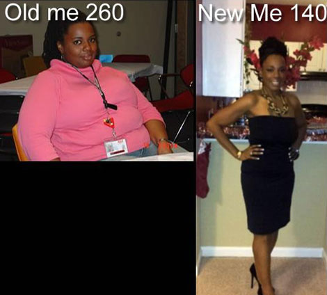 Connie Lost 120 Pounds Black Weight Loss Success