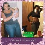 Trina lost 52 pounds