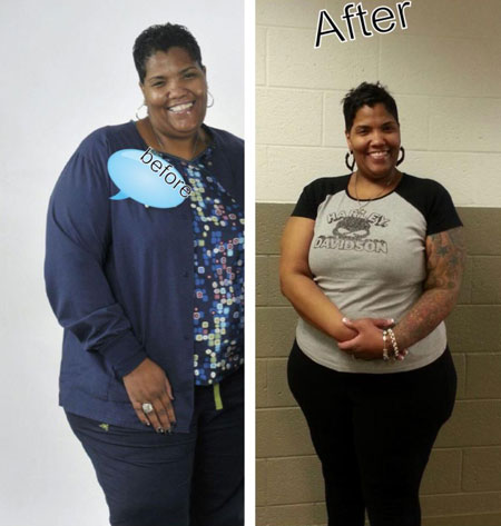 Imana Lost 44 Pounds Black Weight Loss Success