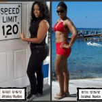 Erica lost 32 pounds