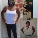 Keiah lost 124 pounds