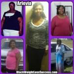 Arlevia lost 202 pounds