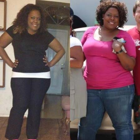 Sabrina lost 60 pounds   Black Weight Loss Success