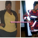 Joy lost 38 pounds