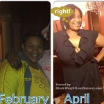 Latashia lost weight and went from a size 22-24 to a size 16-18