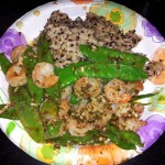 shrimp quinoa brown rice recipe