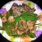 shrimp quinoa brown rice recipe