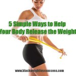 5 simple ways to lose weight