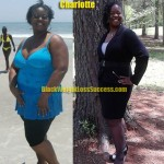 Charlotte weight loss before & after