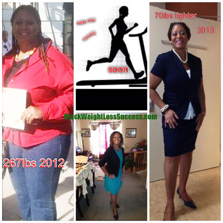 Laura Lost 70 Pounds Black Weight Loss Success