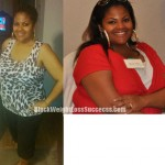 Tiffany lost 30 pounds
