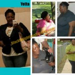 Yetta lost 100 pounds