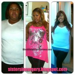 Bianca before and after weight loss