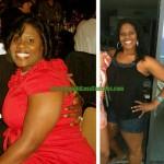 Kim lost 35 pounds