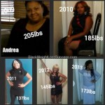Andrea weight loss before and after