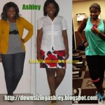 ashley weight loss before and after