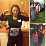Nadira weight loss before after