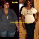 Natalie weight loss before and after