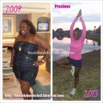 precious weight loss before & after