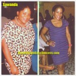 Sawanda weight loss story