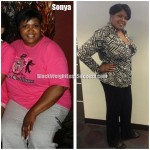 Sonya weight loss before and after