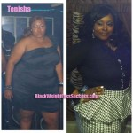 Tenisha weight loss before and after