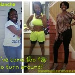 Blanche weight loss before and after