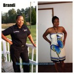 Brandi lost 44 pounds