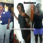 Constance weight loss before and after