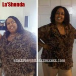 LaShonda weight loss before and after